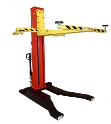 Car Valet Singe Post Portable Service Lift 6,000 LB. (2.7T)
